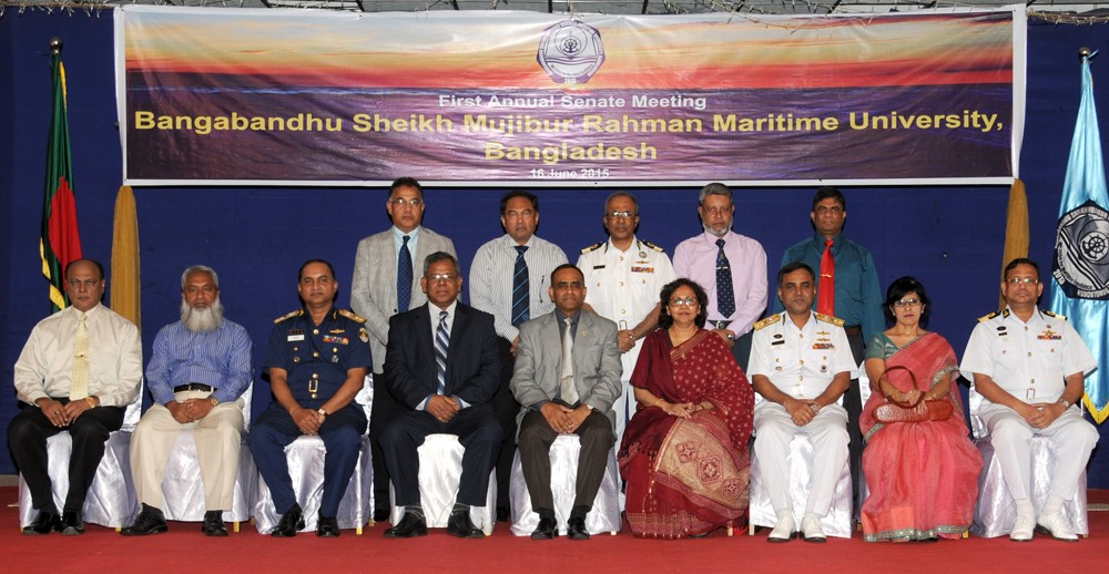 First Annual Senate Meeting of Bangabandhu Sheikh Mujibur Rahman Maritime University
