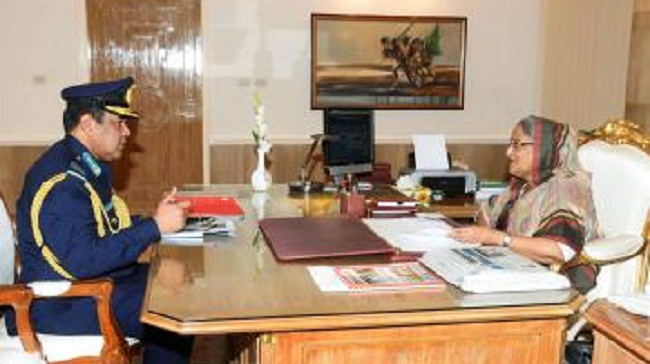 New air chief calls on PM