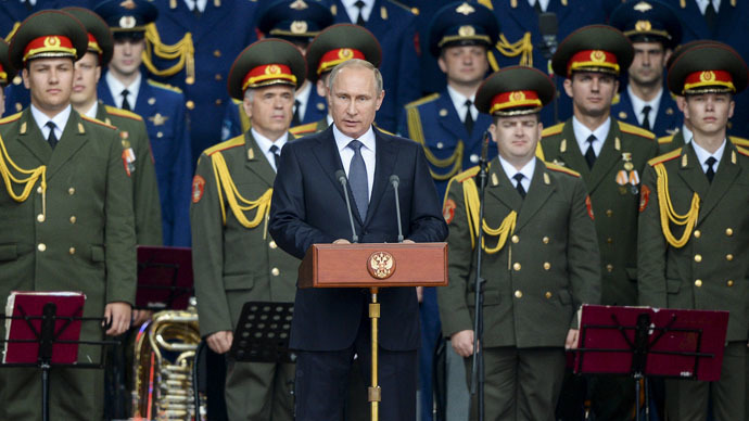 Putin says Russia to boost nuclear arsenal
