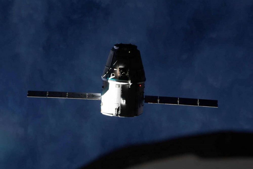 Russian cargo ship docks to space station
