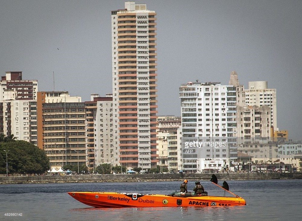 German sets Florida-to-Cuba speedboat record