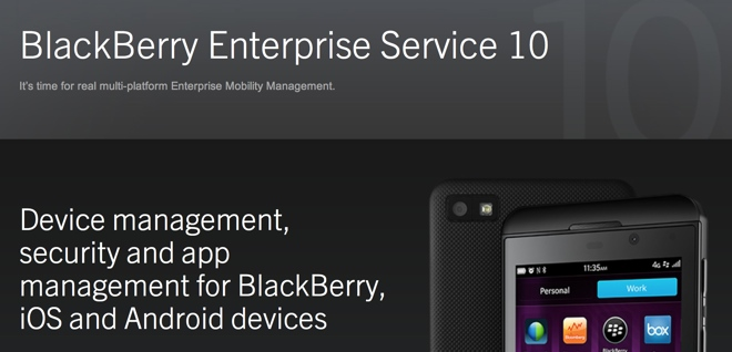 BlackBerry set for Android smartphone launch