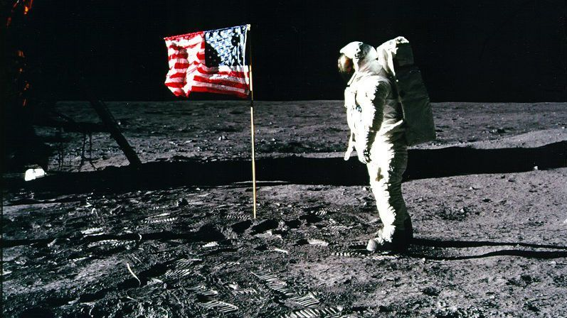 Buzz Aldrin trip to the moon in 1969 : The US government reimbursed  $33