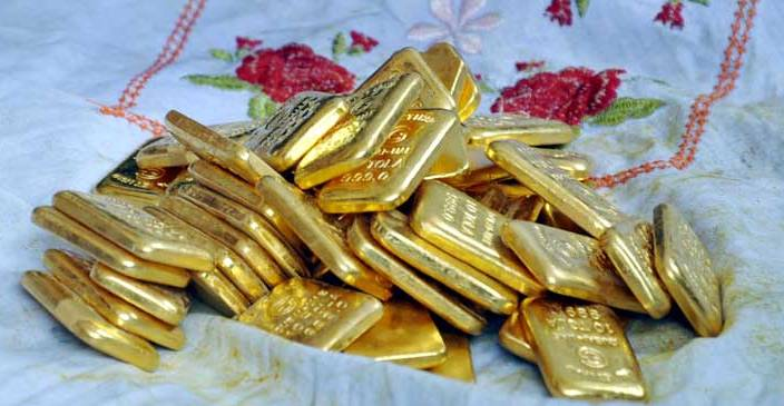 1 arrested with 4 kg gold at Dhaka airport