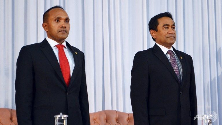Maldives sacks vice-president for 'treason'
