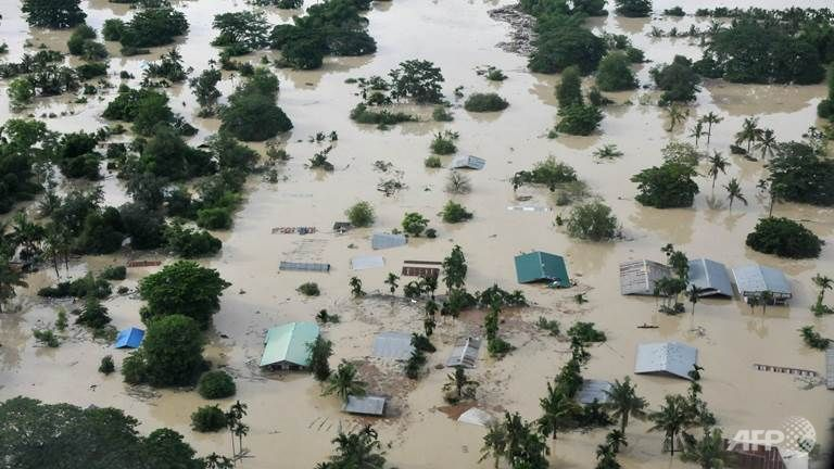 Severe flooding hampers rescue efforts in Myanmar, at least 27 dead