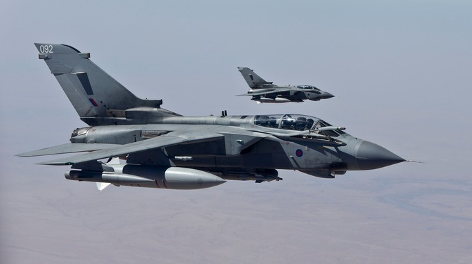 RAF Tornados to continue air strikes against Islamic State in Iraq